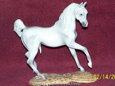 Breyer Model Horses Artist Quality Resin Breeds of the World White Arabian