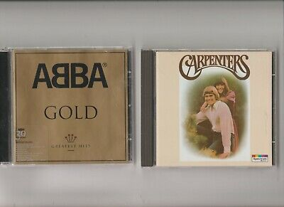 Abba : Gold Greatest Hits + The Carpenters greatest Hits / TWO CD Albums