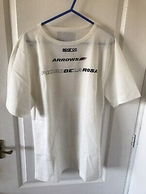 Pedro de la Rosa Race Used/Issued Nomex Top Shirt Arrows F1 Formula One Rare