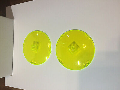 trans-neon green 2 New Lego Windscreens 8x8x3 Dome with Dual 2 Fingers Lot