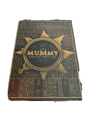 The Mummy Collectors Set The Mummy The Mummy Returns The Scorpion King Dvd