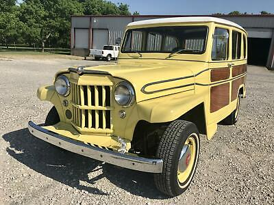 1962 Willys Station Wagon 4 Cylinder / 3 Speed Manual 1962 Willys Station Wagon