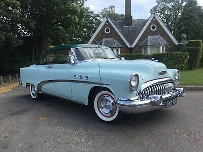 1953 Buick Special Fireball straight 8  beautiful show condition