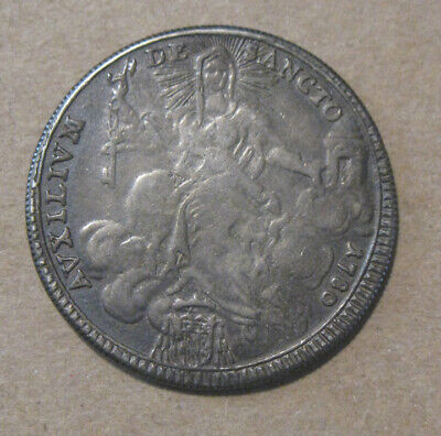 Papal States (Italy) - 1780 Large Silver Scudo