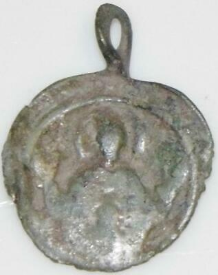 'Orante' Open Hands Early Christian Holy Medal Pilgrims Badge Crusader Byzantine