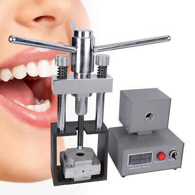 Dental Dentistry Flexible Denture Injection System Machine Heater Press 287±10°C