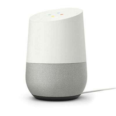 NEW Google Home Smart Speaker with Google Assistant, White/Slate (GA3A00417A14)