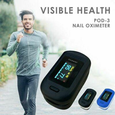 OLED Display Fingertip Pulse Oximeter Blood Oxygen Saturation SpO2 Meter Monitor
