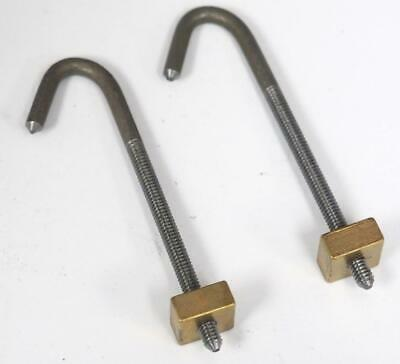 Longcase Seat Board Hooks - Seat Board Hooks For Grandfather Clocks