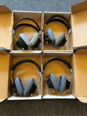 4 Pairs Of Retro Telex Ear Defenders