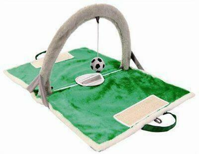 Cat Activity Playground Soccer Football Play Mat Cat Interactive Toys Accessory
