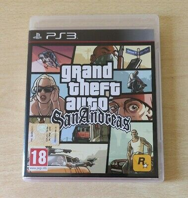 Ps3 Gta Grand Theft Auto San Andreas Completo Playstation 3 Italiano Come Nuovo