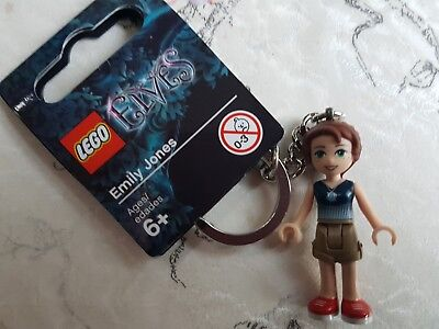 Lego Elves 853559 6142589 Emily Jones Key Ring New