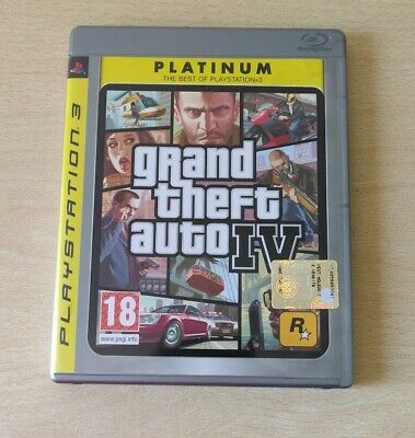 Ps3 Gta Grand Theft Auto Iv 4  Completo Playstation 3 Italiano Come Nuovo