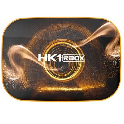 HK1 RBOX Smart TV Box Android 10.0 4+128GB WiFi TV Set Top Box Media Playe N8S6