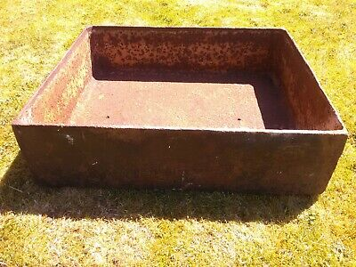 Antique Victoria Cast Iron Pig Trough with feet Garden Planter Local delivery
