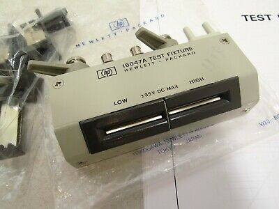 HP Agilent 16047A Test Fixture (Axial and Radial)