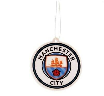 Manchester City Car Air Freshener - Licensed Official FREE POSTAGE
