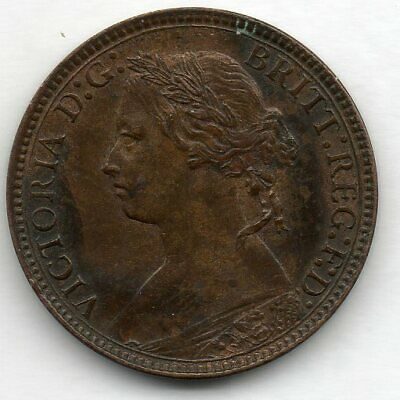 Great Britain 1 Farthing 1875 H Coin