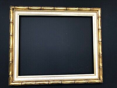 Bamboo Style  -  Gold Picture / Mirror Frames 16 x 20  or 18 x 22
