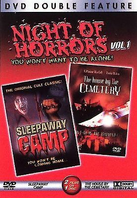 Night of Horrors Volume 1 - Sleepaway Camp/ The House by the CemeteryOOP RARE!!