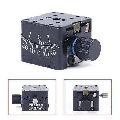 Manual Goniometer Dovetail Linear Stage Positioning Stage Optical Precision 25mm