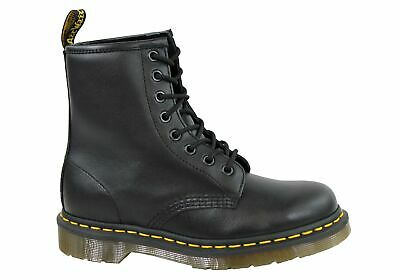 Dr Martens 1460 Black Nappa Fashion Lace Up Comfortable Unisex Boots - ModeShoes