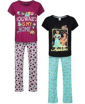 Ladies Character Pyjamas Ex Uk Store Sizes 8-22 Night Wear 2Pc Long Pj Sets Bnwt