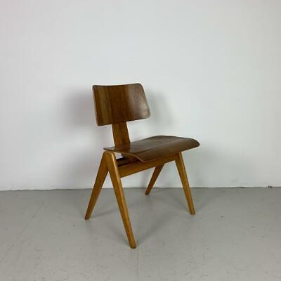 Midcentury Moulded Plywood Stacking Chair Robin Day Hillestak #2917B