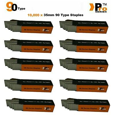 90 Type Staples: Size 35mm ( 10,000 Staple Handy Pack ) SPECIAL OFFER!!