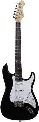 ST Style Black Electric Guitar