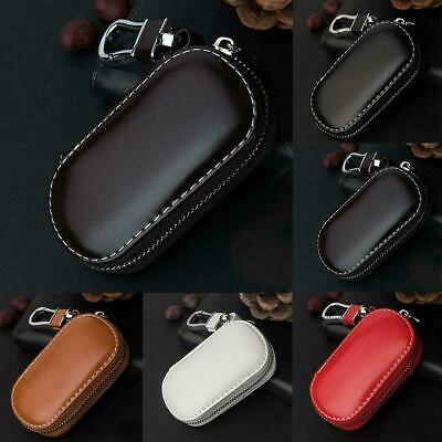 Car Key Fob Signal Blocker Case Faraday Keyless Entry RFID Bags Guard Cage Z8P1