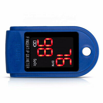 "Pulse Oximeter - Check Pulse And Blood Oxygen Level Sp02 -""Uk Stock""Fast & Free"