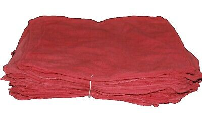 500 Red Shop Towels / Mechanics Rags / Rags / Grease Rags / Oil Change Towels