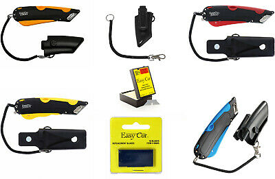 Easy Cut World's Best Safety Box Cutter Knives and Replacement Blades