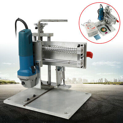 """5.9"""" Electric Letter Slot Cutting Machine with speed-adjusting angle grinder USA"""