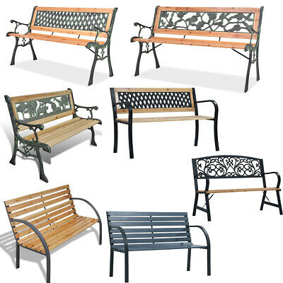 Bench Garden Patio Outdoor Benches Chairs Lounge Chairs Seat Patio Seating UK