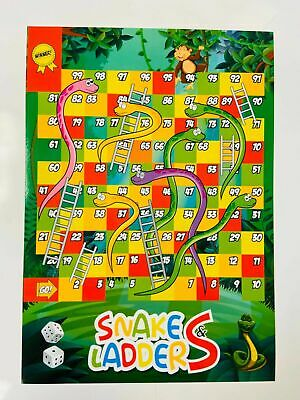 Ludo Snakes and Ladders Traditional Children kids & Family Board Game
