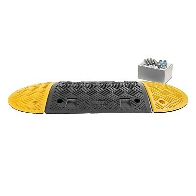 1 M Speed Ramp Kit 10 mph: 50 mm (1 Midsections + 2 End Caps - Fixings Included)