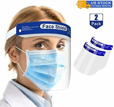 Safety Full Face Shield Reusable Washable Protection Cover Face Mask Anti-Splash