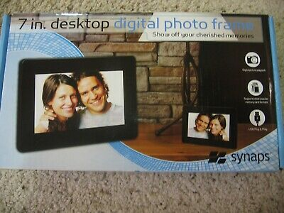 ⭐Synaps Desktop Digital Photo Frame - 7 inch