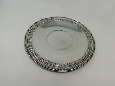 """Reed & Barton Silver Plate Dish 1201 Serving Ornate 10.5"""""""