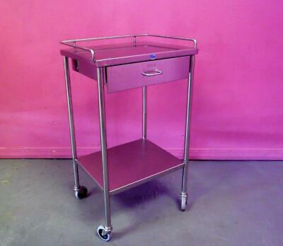 Pedigo Stainless Steel Anesthesia Table OR Cart Stand