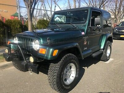 2000 Jeep Wrangler sahara 2000 Jeep Wrangler Sahara 5spd hardtop lifted looks and runs great WARRANTY