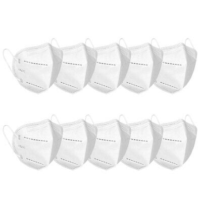 10 Pieces KN95 Face Mask Mouth Cover Disposable Face Mask