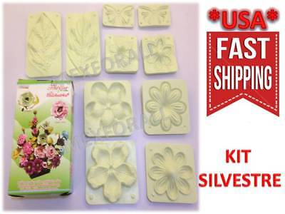 Flower Molds 3D KIT Foam Craft Moldes de Flores Foamy Eva foam MODEL SILVESTRE