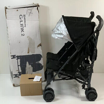 Nearly New $350 UPPAbaby G-Link 2 Stroller Jake (Black/Carbon)