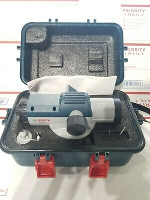 Bosch GOL26 Automatic Optical Level in Case Good Used Condition + Free Shipping!