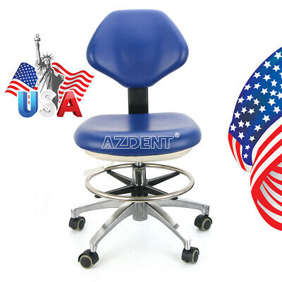 Dental Height Adjustable Mobile Chair Dentist Doctor Hydraulic Rolling Stools