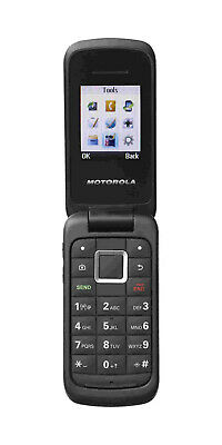 MOTOROLA Cellular Flip Phone with Charging Cable